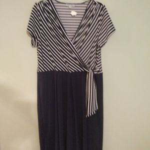 Shelby and Palmer Jumpsuit Tie Front 2x